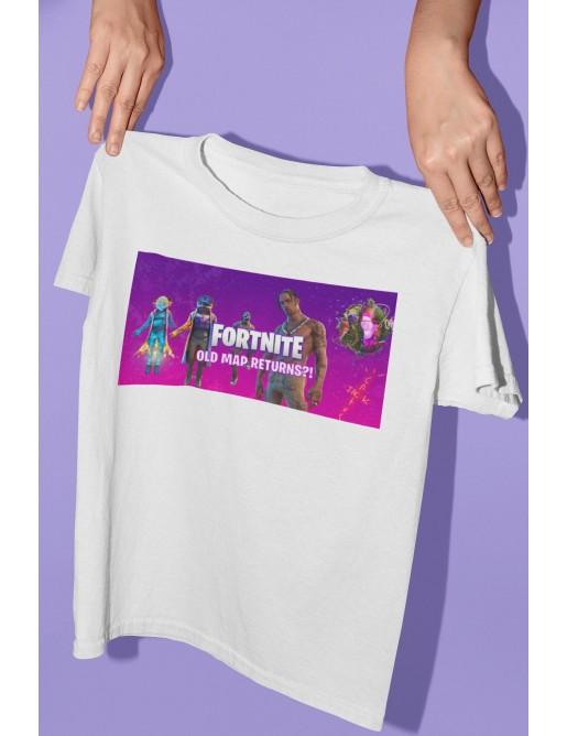 Тениска Fortnite с печат